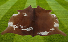 A Grade Cowhide Rugs Area Cow Skin Leather Cow hide ULG 9011 (24.75 Sq Feet)