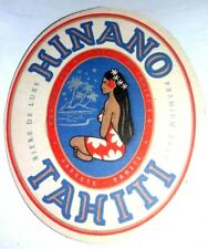 sous-bock bière HINANO TAHITI beer beermat coaster Bierdeckel
