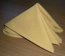 "100 20"" Inch Gold Linen Cloth Napkin Wedding Restaurant Catering"