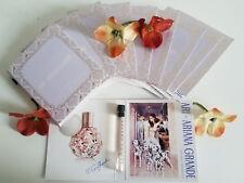 ARIANA GRANDE ARI 10Pcs.EAU DE PARFUM 0.05fl.oz/1.5ml/ SPLASH VIALS FOR WOMEN