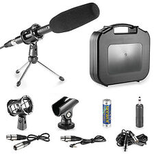 Neewer DSLR Condenser Shotgun Microphone Kit for Canon EOS 5D Mark II III 6D 7D