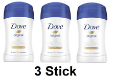 3 X Dove Original Antiperspirant Deodorant Stick 48h 40 ml