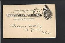 CHICAGO PILSEN STA., ILLINOIS 1898 GPC, ADVT. C.E. CLARK STOVES, RANGES.