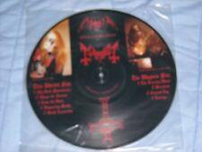 MAYHEM / MORBID 1st press picture LP limited to 1000 copies new/Mint megarare 33
