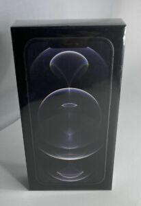 Apple iPhone 12 Pro Max 128GB NETWORK UNLOCKED Graphite - BRAND NEW SEALED BOX