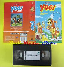 VHS film YOGI Per un vasetto di miele 1993 animazione RCS 21043 (F45) no dvd