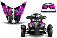 Can Am BRP RTS Spyder Roadster Hood Graphic Kit Decal Sticker Wrap 10-11 REAP P