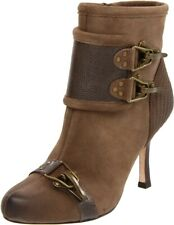 """Plenty by Tracy Reese """" Pam """" Cuir Bottines Taupe 37,5 Ue 7 US"""