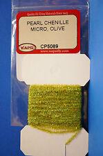 Pearl Chenille MICRO Ø 1mm x 3 Meter Wapsi USA CP5505 Micro FLUO FIRE ORANGE