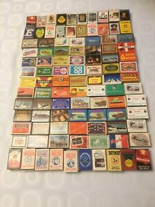 100 Assorted Matchboxes