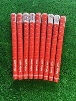 Golf Pride Tour Wrap 2G Grip 9 Pieces Standard M60 Round Red