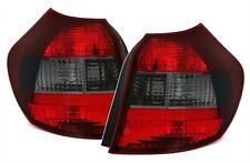 FEUX ARRIERE AR NOIR FUME ROUGE CRISTAL BMW SERIE 1 E81 E87 116i 118i 120i 130i