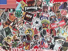 100 Random Music Film Vinyl Skateboard Guitar Travel Case Sticker Decal Cool K