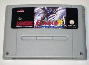 *PAL Version* Mobile Suit Gundam W Wing Endless Duel For Super Nintendo SNES