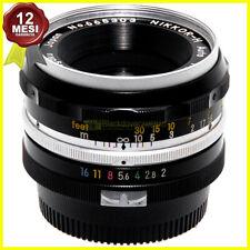 Obiettivo Nikon Nikkor H Auto 50 mm f2 per fotocamere con reflex baionetta F