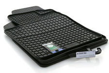 Gummimatten Fiat 500 / 500C Original Qualität Auto Fußmatten 4-teilig schwarz
