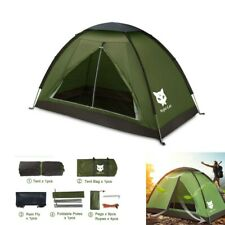 New listing Single Man Tent Backpacking Hiking Camping Sun Shelter Waterproof Popular 2021