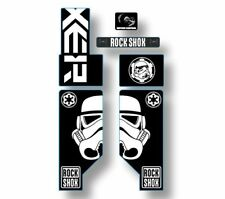 Rock Shox Boxxer Mountain Bike Cycling Decal Kit Sticker Adhesive Troopers Theme
