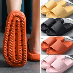 Women Men Shower Slipper Anti-Slip House Sandals Bathroom Home Slippers Shoes UK