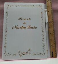 Wedding Guest Book- Libro de firmas Boda-spanish