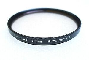 67mm Vivitar Skylight 1A Filter - PERFECT