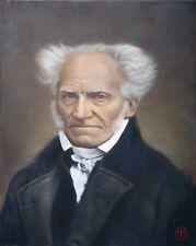 """Arthur Schopenhauer"" an original portrait painting"