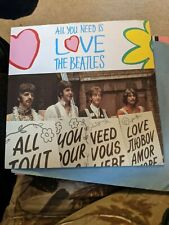New listing RARE BEATLES VINYL SINGLE ALL YOU NEED IS LOVE 20TH ANNIVERSARY PARLOPHONE MINT