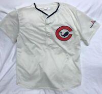 RARE Chicago Cubs Whale Logo Throwback Jersey / Shirt XL Match-Up Brand