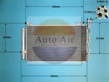 Fit with HYUNDAI TUCSON Condenser air conditioning 16-8912 2L