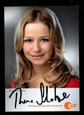 Theresa Scholze ZDF Autogrammkarte Original Signiert # BC 68923