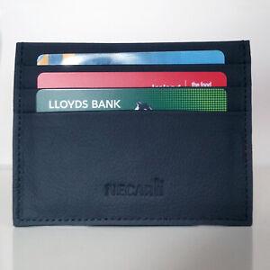 Genuine Leather Credit Card Holder, Cardholder Wallet and ID Card Holder