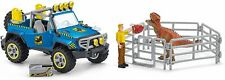 Schleich Off-road Vehicle With Dino Outpost Dinosaurs 41464