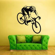 Wall Vinyl Sticker Bedroom Decal Bike Sport Bicycle Cycle (Z1959)