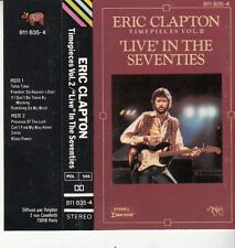 K 7 AUDIO (TAPE)  ERIC CLAPTON  *LIVE IN THE SEVENTIES*
