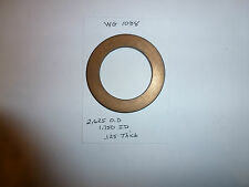 Bronze Washer, 2.625 O.D. X  1.750 I.D. X .125, Lot of 4, FREE SHIPPING, WG1088