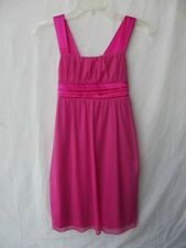 Ruby Rox Fuchsia Girl Dress Size XL with Satin Accents NWT G82087