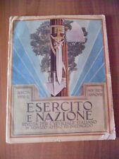 ESERCITO e NAZIONE 11/1929 Canale Suez, Operazioni sbarco, Giuseppe Missori