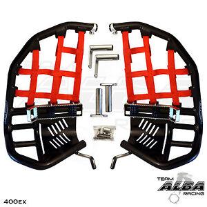 Honda TRX 400EX  400X  Nerf Bars  Pro Peg  Alba Pro Elite  Black/Red  211 T7 BR