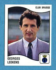 FOOTBALL 90 BELGIO Panini - Figurina-Sticker n. 96 - LEEKENS - CLUB BRUGGE -New