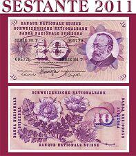 SWITZERLAND / SVIZZERA - 10 FRANKEN 6.1. 1977 - P 45u - FDS / UNC PERFECT