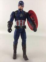 "Marvel Avengers Captain America Talking 12"" Action Figure w Shield Hasbro 2015"
