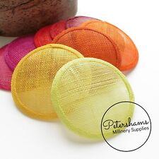 hat /& craft use HA062 Medium saucer sinamay fascinator//hat base for fascinator