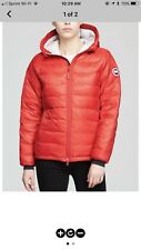 Camp Down Jacket CANADA GOOSE Red XSmall