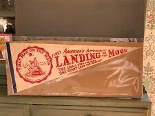 Original Pennant Chicago Welcomes Apollo 11