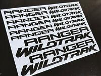FORD RANGER WILDTRAK Decals Stickers Graphics Vinyl Logo Various Colours