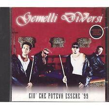 GEMELLI DIVERSI - Cio' che poteva essere '99 - CDs SINGLE 1999 + FOTO NEAR MINT