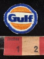 Vintage Cut-edge GULF OIL Gas Station Advertising Patch 00RV