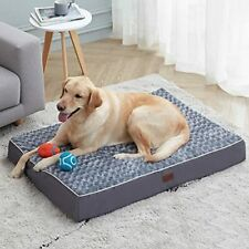 New listing Western Home Large Dog Bed for Large, Jumbo, Medium X-Large (Pack of 1) Grey
