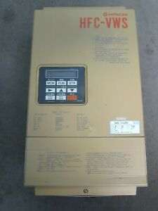 HITACHI HFCVWS 11LD3 200V 22AMP VARIABLE FREQUENCY DRIVE XLNT USED TAKEOUT M/O!!