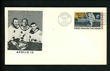 US Postal History Space Apollo 13 NASA Rocket Explosion Accident 1970 Houston TX